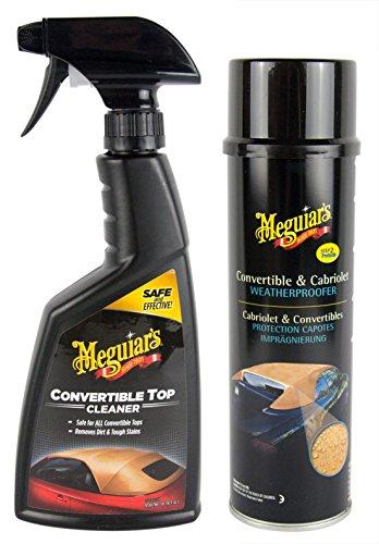 MEGUIAR'S MEGUIARS Cabrio Verdeck Reiniger 473 ml & Cabrio Imprägnierung 500 ml