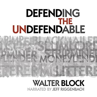 Defending the Undefendable audiobook cover art
