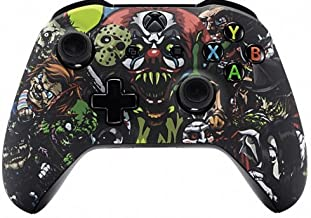 Scary Party Rapid Fire Custom Modded Controller Compatible with Xbox One S/X 40 Mods for All Major Shooter Games (with 3.5 Jack)