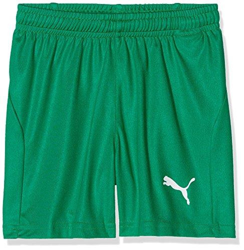 PUMA Unisex Kinder, LIGA Shorts Core Jr Shorts, Pepper Green-White, 164