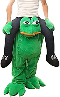 Ride On Me Costume Shoulder Adult Frog Ride On Mascot Costume