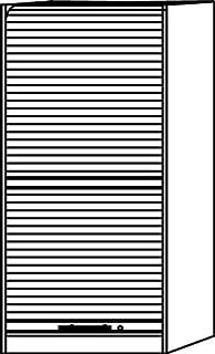 Amstyle Armario de persiana (90