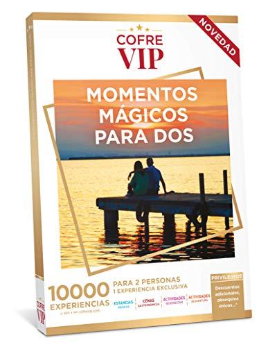 CofreVIP Caja Regalo Momentos MAGICOS para Dos 10.000 experiencias a Elegir para Dos Personas
