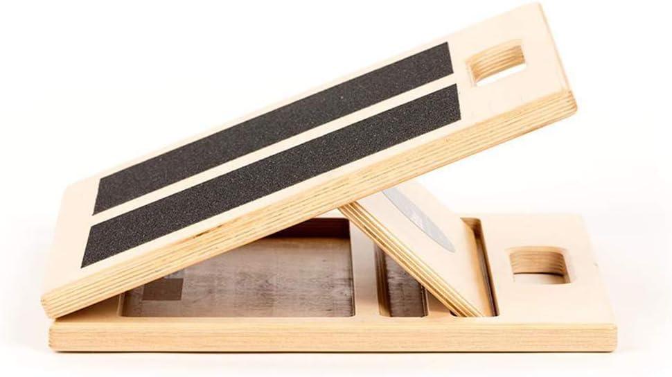 "Fitterfirst Wooden Slant Board Japan's largest Very popular assortment 12"" - – Regular"
