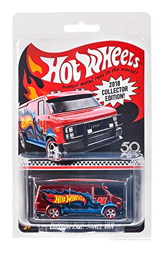 Hot Wheels 2018 Collectors Edition Custom GMC Panel Van 1:64 Scale Diecast Collectable