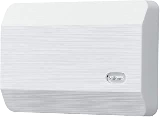 Broan-NuTone LA11WH Plug-In Doorbell Kit, Decorative Wired Two-Note Door Chime for Home, 2.38