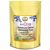 All in One Weight Loss Tea - Detox and Cleanse - Appetite Suppressant, Energy Booster, and Colon Cleanser. 3 Packs