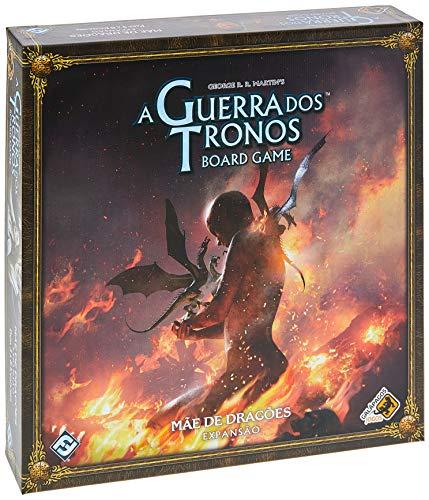Mãe de Dragões - Expansão, A Guerra dos Tronos: Board Game, Galápagos Jogos, Multicor