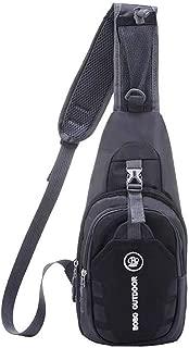 Hwayslon Sling Backpack, Shoulder Chest Crossbody Bag Small Daypack for Outdoor Hiking Men & Women