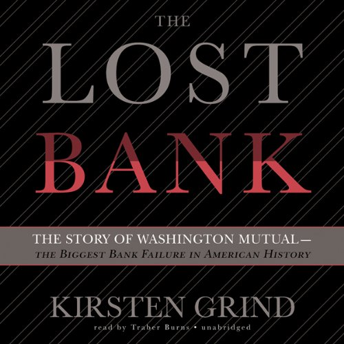 The Lost Bank audiobook cover art