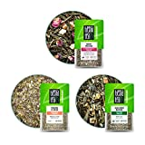 Tiesta Tea - Green Loose Leaf Tea Pouch Set, Medium Caffeine, Hot & Iced Tea, Tea Assortment with Light Citrus & Fruity Green Tea Bags, Natural Ingredients, Loose Leaf Green Tea Variety Box