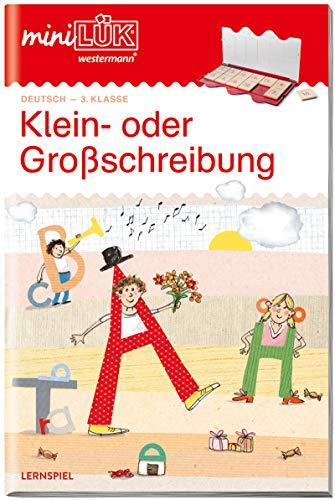 miniLÜK-Übungshefte: miniLÜK: 3./4. Klasse - Deutsch: Klein- oder Großschreibung: Deutsch / 3./4. Klasse - Deutsch: Klein- oder Großschreibung (miniLÜK-Übungshefte: Deutsch)