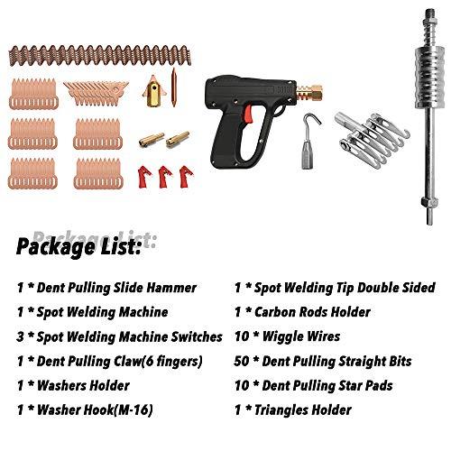 81 unids Dent Puller Kit Herramientas de Reparación de