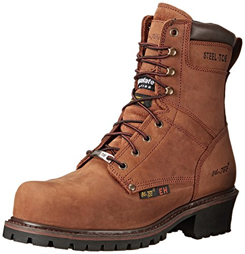 AdTec Super Logger 9 inch Steel Toe Boot