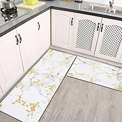 "HiiARug Kitchen Rug Sets 2 Piece 20""x31&#34..."