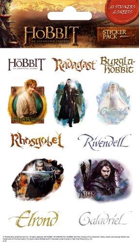 The Hobbit Sticker Pack, 11x18 cm