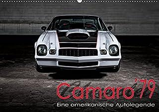 Chevrolet Camaro ´79 (Wandkalender 2019 DIN A2 quer): Chevrolet Camaro ´79 (Monatskalender, 14 Seiten )