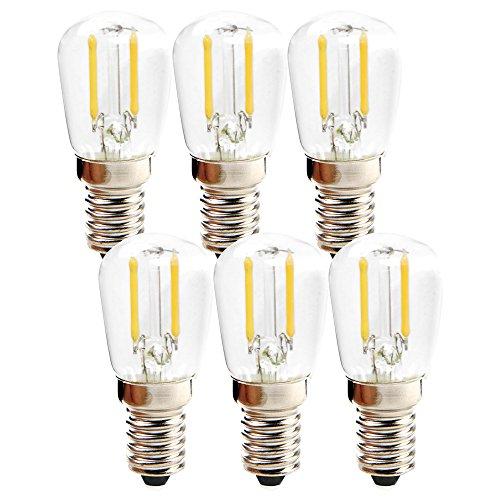 LED Filament Röhre T26 1W = 15W E14 60lm extra warmweiß 2200K (6 Stück)