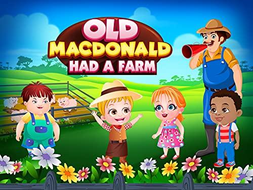 Der alte MacDonald hatte eine Farm (Single)   Reime lernen   Tierlieder für Kinder von Baby Hazel