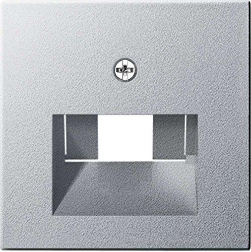 Preisvergleich Produktbild Gira 027026 Abdeckung UAE IAE ISDN System,  alu