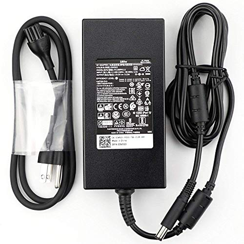 Compatible for Dell 180W AC Adapter for Dell Alienware 15 R1, R2, Precision 7510, M4600, M4700, M4800