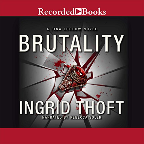 Brutality audiobook cover art