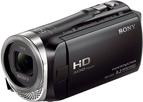 Sony HDR-CX450 - Videocámara (2,29 MP, CMOS, 25,4/5,8 mm (1/5.8