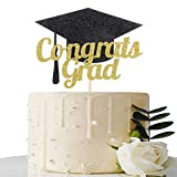 Congrats Grad Cake Topper - 2020 Graduation Party Decorations Supplies...