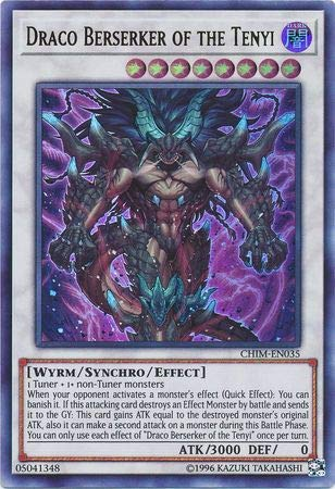 Draco Berserker of the Tenyi - CHIM-EN035 - Ultra Rare - Unlimited Edition