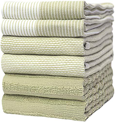Top 10 Best Selling List for sage green kitchen towels