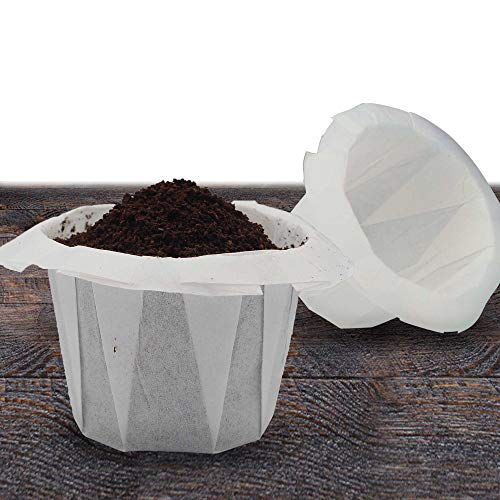 Disposable Coffee Filter Paper - 200 Counts White Filters Papers...