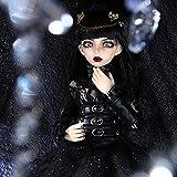 BBYYT BJD Dolls 1/4 Fashion Flexible Resin Figure Female Fairies Fullset Toy for Children Girl Minifee Celine