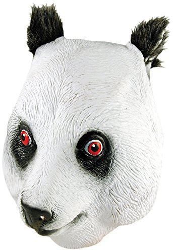 Bristol Novelty Novelty-BM302 BM302 Masque de Panda (Taille Unique), Multicolore