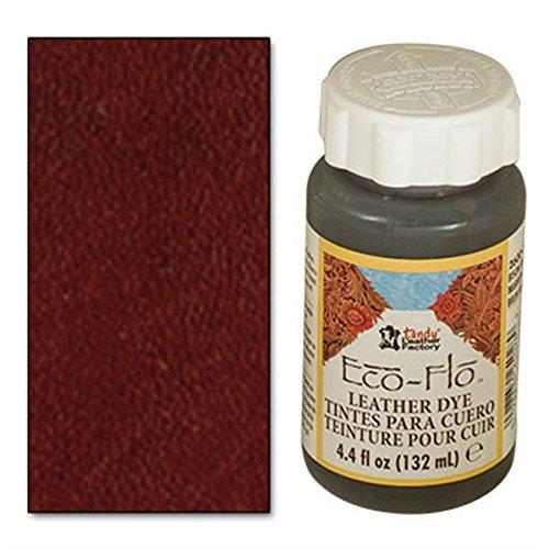 Tandy Leather Eco-Flo Leather Dye 4.4 fl. oz. (132 ml) Dark Mahogany 2600-08