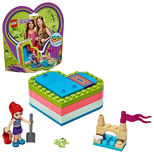 LEGO Friends - Caja Corazón de Verano de Mía, Juguete con Mini Muñeca de Construcción para Niñas y Niños a Partir de 6 Años, Incluye Figura de Tortuga (41388)