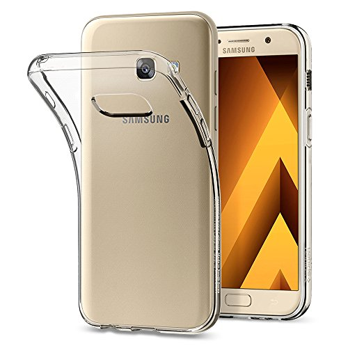Spigen Cover Liquid Crystal Compatibile con Samsung Galaxy A3 2017 - Crystal Clear