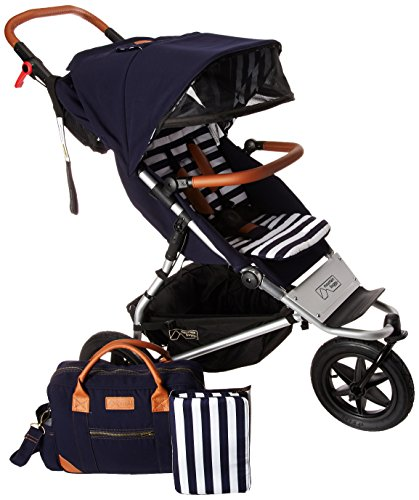 Review Of Mountain Buggy Urban Jungle Luxury Collection Stroller, Nautical