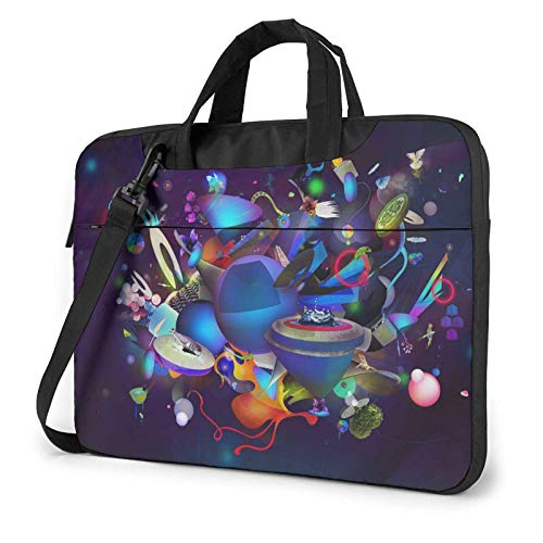 XCNGG Laptop Bag Carrying Laptop Case, Fire Oil Paint Computer Sleeve Cover with Handle, Business BriefcaseBag for Ultrabook, MacBook, Sony, Notebook 13 inch