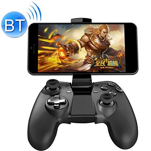 LBSJW NEWGAME Q1 Bluetooth + 2,4 GHz Controlador de Juegos inalámbrico Juego de la Palanca de Mando de Agarre cojín del Juego con el Soporte, for Android/iOS/PC Wireless Game Controller