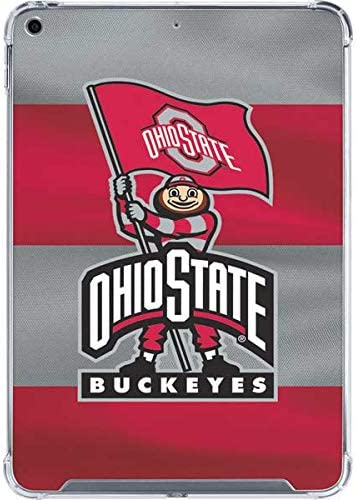 Skinit Clear Tablet Case Compatible with iPad 10.2in (2019-20) - Officially Licensed OSU Ohio State Buckeyes Flag Design