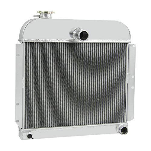 OzCoolingParts 4 Row Core Aluminum Radiator for 1941-1952 42 43 44 45 46 47 48 49 50 51 Plymouth Special Deluxe/Deluxe/Station/Wagon/Suburban/Cranbrook/Concord/Cambridge/P-Series and More,3 3.6 3.8 L6