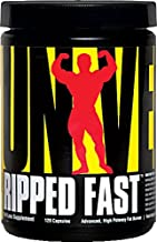 Universal Nutrition Ripped FastT Fat Burner -- 120 Capsules - 2PC