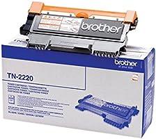 Brother TN2220 Toner Originale Alta Capacità, fino a 2600 Pagine, per Stampanti Brother Serie 2200, Serie 7000, FAX2840,...