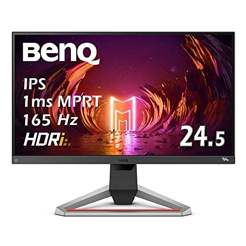 ベンキュージャパン BenQ MOBIUZ ゲーミングモニター EX2510S (24.5型/165Hz/IPS/フルHD/1ms/HDRi/treVoloスピーカー/sRGB 99%/高さ調整/3種のゲーム専用モード)