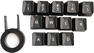 Keycap 12Pcs Bump Keyboard Keycaps for logitech G413 G910 G810 G310 G613 K840 Romer-G Switch Mechanical Keyboard Backlit K...