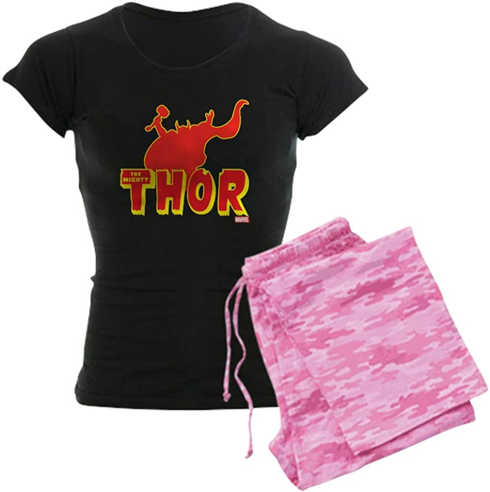 CafePress Thor sold out cheap Red Women's Silhouette PJs