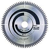 Bosch 2 608 640 447 - Hoja de sierra circular Multi Material - 216 x 30 x 2,5 mm, 80 (pack de 1)