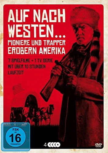 Auf nach Westen - Pioniere und Trapper erobern Amerika (4 DVDs)