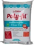 Fairfield Poly Fil Premium Fiber Fill, 32-Ounce (#.1 Pack - 32 Ounce, Original Version)