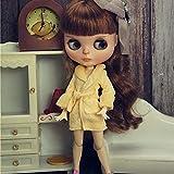 leoglint Sleepwear Clothes for Blythe Doll 30 cm 1/6 Bjd Dolls Azone ICY Licca Doll